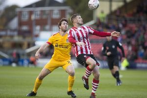 Cobblers midfielder John-Joe O'Toole