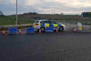Northamptonshire Police were called to the incident this morning at 7.28am.