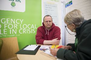 Eastbourne Foodbank says there has been a surge in people needing its services