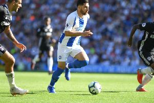 Alireza Jahanbakhsh will make his first Premier League start since early November. Picture by PW Sporting Photography