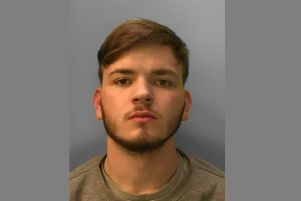 Connor Mackay. Photo courtesy of Sussex Police. SUS-190503-105604001