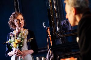 Niamh Cusack and Stephen Boxer star in The Remains of the Day at the Royal & Derngate in Northampton