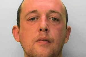 Daniel Robinson has been banned from Worthing town centre. Photo: Sussex Police
