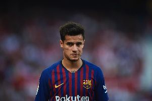 Philippe Coutinho (Photo by Aitor Alcalde/Getty Images)