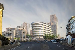 Developer Mosaic revealed plans for 378 homes, an 83-bed hotel, gym and supermarket in February this year.