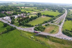 The Crossbush junction along the A27. Picture: Eddie Mitchell