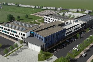 An artists impression of how the new school will look
