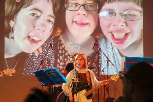 Dancing Rock Queens - Laura Malby guitar and vocals, Laura MacGowan keys and vocals, Gayle Driver drums,