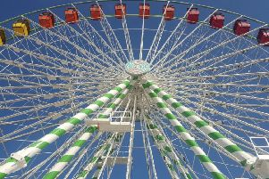An impression of the wheel at Worthing seafront
