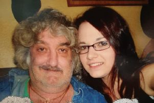 Sam Jenner with her dad Brian