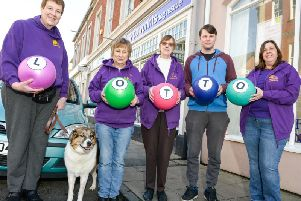 Pawprints Dog Rescue (pictured) was the first good cause to sign up.