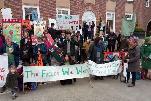 Climate emergency march