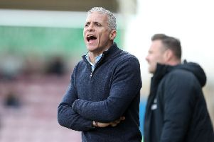 Keith Curle's style of play has been criticised by some fans this season. Picture: Pete Norton