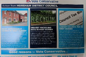 Conservative Party leaflet