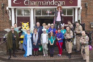 Fairy Tale Fair raised thousands for St Barnabas House. Picture courtesy of Fred Bell
