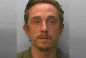 Ernie Taylor, 28, is known to have links to Shoreham and Southwick. Picture: Sussex Police