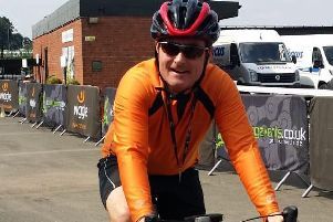Michael Murray will be taking on the Velo Birmingham and Midlands cycle ride this month. Photo submitted.