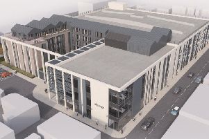 Artist's impression of the Warwick District Council HQ plans.