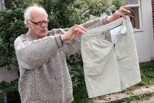 DM1951457a.jpg.  Littlehampton letter writer who hates shorts is revealed - Ian Fox. Photo by Derek Martin Photography. SUS-190705-165346008