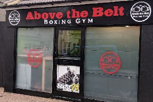 Above the Belt Boxing Gym at 1 Arcade Road, Littlehampton