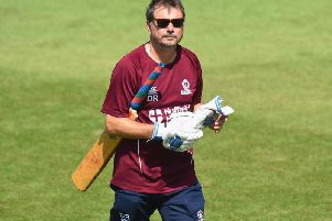 Northants head coach David Ripley saw his side suffer defeat at Old Trafford