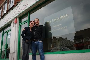 Mike and Jo Saveen are excited about their new business venture in Worthing