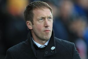 New Brighton & Hove Albion head coach Graham Potter. Picture courtesy of Getty Images