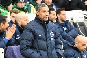Former Brighton & Hove Albion manager Chris Hughton. Picture by PW Sporting Photography