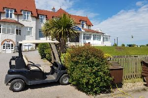 Four golf buggies have been stolen from the North Shore Golf Club in Skegness. ANL-190522-120001001