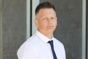 All allegations against PC Paul Bridger - pictured here at his 2018 court trial - were dismissed today