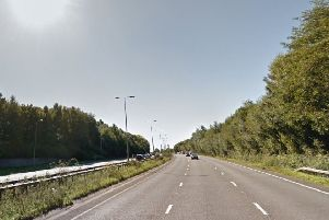 The A23 at Pease Pottage. Photo: Google Street Maps