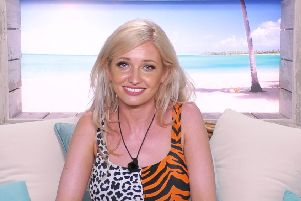 Amy Hart entered the Love Island villa this week