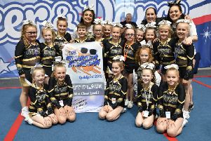Thunderbolts, a Sussex Tornados team of 18 athletes aged seven to nine