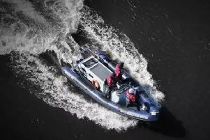 The person was rescued by Foyle Search and Rescue shortly after midnight.
