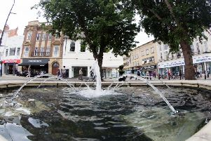 Proposals for Northampton town centre include a new indoor food hall in Market Square and a linear park on the site of the former Greyfriars bus station.