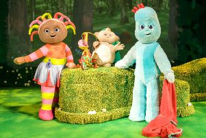 Upsy Daisy, Makka Pakka and Igglepiggle are coming to the Embassy Theatre, in Skegness. EMN-191007-103545001