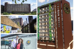 Northampton's tired Belgrave House is in the running for a complete redevelopment.