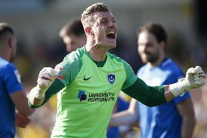 Craig MacGillivray is seeking to become the first keeper in 10 years to retain his Pompey spot. Picture: Daniel Chesterton/phcimages.com