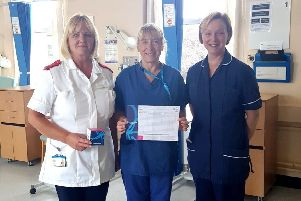 Fotherby Ward staff will be taking part in the fundraising walk this weekend.