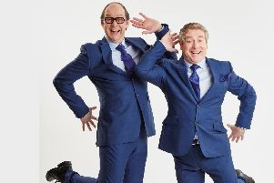 Eric and Ern at the Kings Theatre, Southsea, on October 5, 2019.