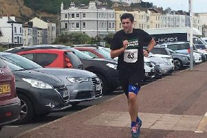 Hastings Runners had a fantastic turn out. Picture courtesy of Simon Linklater.