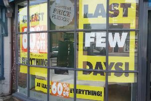 Bathstore Horsham has announced its 'last few days'