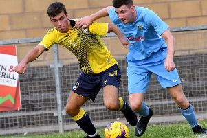 Charlie Evans scored both goals against Coventry City's Under 23 side
