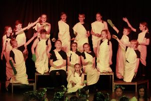 The drama group for years nine and ten performed a humorous and poignant play, entitled What Are They Like?
