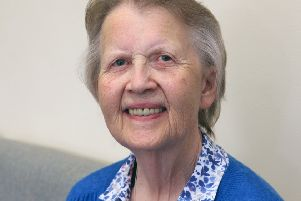 Pat Clemow has been nominated for Macular Society's Awards for Excellence for a second time. Photo by Derek Martin DM17838353a