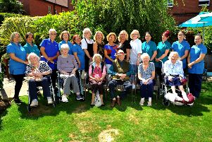 Melrose Care Home, Worthing outstanding CQC rating. Pic Steve Robards SR1919245 SUS-190508-170800001