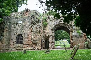 Gatehouse from the Abbey at Abbey Fields in Kenilworth