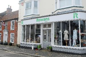 The Rowans Hospice charity shop in Church Street, Titchfield.''Picture: Sarah Standing (160819-3806)