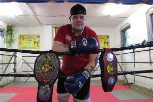 Marty Follis who will step into the ring against another Northern Ireland man Ryan Kilpatrick in Liverpool next month