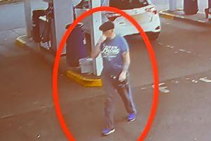 CCTV footage of Malcolm McKeown in Waringstown shortly before he was murdered. Pic Colm Lenaghan/Pacemaker